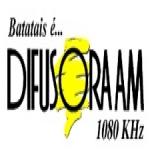 Logo da emissora Rádio Difusora 1080 AM
