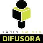 Logo da emissora Rádio Difusora 910 AM