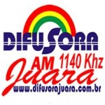 Logo da emissora Rádio Difusora 1140 AM