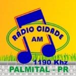 Logo da emissora R�dio Cidade de Palmital 1190 AM