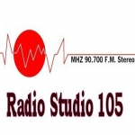 Logo da emissora Studio 105 90.7 FM