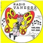 Logo da emissora Vanessa 100.4 FM