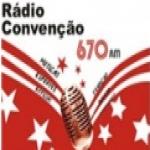 Logo da emissora Rádio Convenção 670 AM