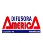 Logo da emissora Rádio Difusora América 1140 AM