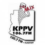Logo da emissora KPPV 106.7 FM