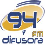 Logo da emissora Rádio Difusora 94 FM