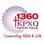 Logo da emissora KPXQ 1360 AM FAITH TALK