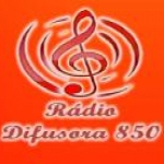 Logo da emissora Rádio Difusora Nortestado 850 AM