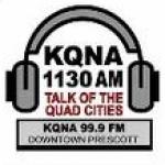 Logo da emissora KQNA 1130 AM
