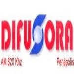 Logo da emissora R�dio Difusora Pen�polis 820 AM