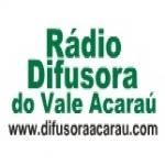 Logo da emissora R�dio Difusora Vale do Acara� 1100 AM