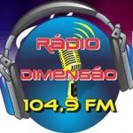 Logo da emissora R�dio Dimens�o 105.1 FM