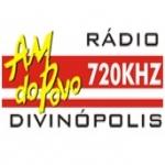 Logo da emissora R�dio Divin�polis 720 AM