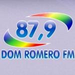Logo da emissora Rádio Dom Romero 87.9 FM