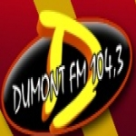 Logo da emissora R�dio Dumont 104.3 FM