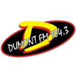 Logo da emissora Rádio Dumont 104.3 FM