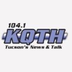 Logo da emissora KQTH 104.1 FM