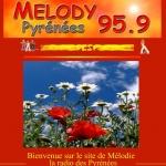 Logo da emissora Mélody 95.9 FM
