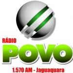 Logo da emissora Rádio Educadora Povo 1570 AM