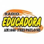 Logo da emissora Rádio Educadora 1440 AM