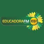 Logo da emissora Rádio Educadora 103.5 FM