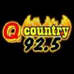 Logo da emissora Radio KTHQ 92.5 FM Q Country