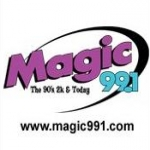 Logo da emissora Radio KTMG 99.1 FM Magic