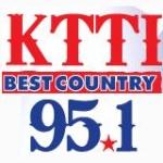 Logo da emissora KTTI 95.1 FM
