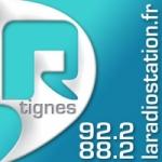 Logo da emissora R Tignes 92.2 FM