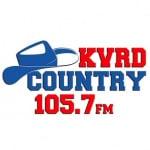 Logo da emissora Radio KVRD Country 105.7 FM