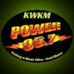 Logo da emissora KWKM 95.7 FM Power