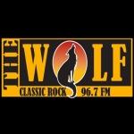 Logo da emissora KWMX 96.7 FM