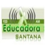 Logo da emissora Rádio Educadora Santana 920 AM