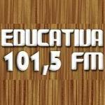 Logo da emissora Rádio Educativa de Iporá 98.9 FM
