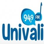Logo da emissora R�dio Educativa Univali 94.9 FM