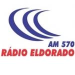 Logo da emissora R�dio Eldorado 570 AM
