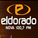 Logo da emissora R�dio Eldorado 100.7 FM