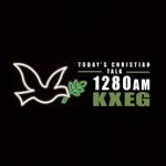 Logo da emissora KXEG 1280 AM