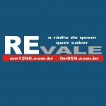Logo da emissora Rádio Estadão Vale 1290 AM 95.9 FM