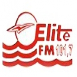 Logo da emissora Rádio Elite 101.7 FM