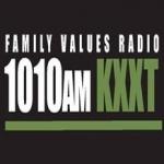 Logo da emissora Radio KXXT 1010 AM