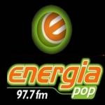 Logo da emissora Rádio Energia Pop 97.7 FM