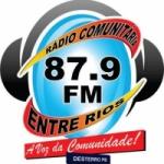 Logo da emissora R�dio Entre Rios 87.9 FM