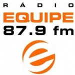 Logo da emissora Rádio Equipe 87.9 FM