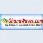Logo da emissora Radio Ghana Waves