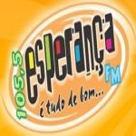Logo da emissora R�dio Esperan�a 105.5 FM