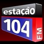 Logo da emissora R�dio Esta��o 104 FM