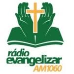 Logo da emissora Rádio Evangelizar 1060 AM