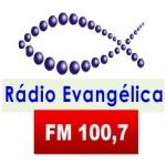 Logo da emissora R�dio Evang�lica 100.7 FM