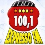 Logo da emissora R�dio Expresso 100.1 FM